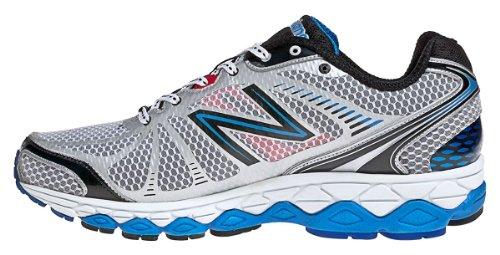 New Balance M880 - Zapatos de correr para hombre Silber/Schwarz/Blau