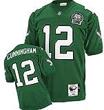 NFL Philadelphia Eagles Cunningham #12 Men's Football Jersey Green X-Large