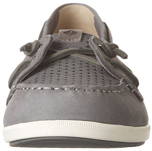 Sperry Top-sider Coil Ivy Scale Emboss Boat Shoe Grey