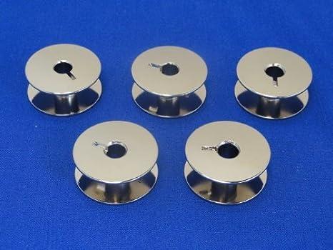 5 bobinas de máquina de coser INDUSTRIAL compatible con PFAFF 545 ...