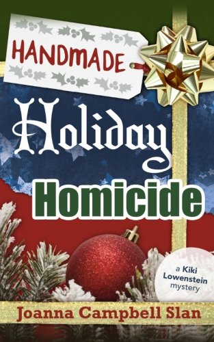 book cover of Handmade, Holiday, Homicide