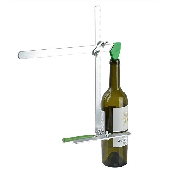 Yosoo Copa Botella coupeur botella Gola para botella de vino de cristal máquina de cortar botella: Amazon.es: Bricolaje y herramientas