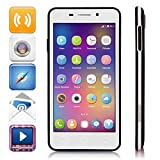 """DOOGEE LEO DG280 4.5"""" IPS FWVGA Screen MTK6582 1.3GHz Quad core Quadband Dual SIM Dual Standby Anroid4.4 RAM 1G ROM 8G Cellphone Mobile Phone 3G Phone Smartphone with Smart Wake Rugged back cover APP encryption WiFi 5.0MP 1.3MP Camera GPS Bluetooth 4.0"""