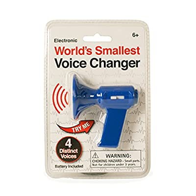 Westminster World's Smallest Voice Changer, Random Color: Toys & Games