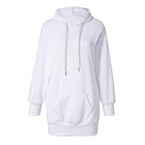 Col Femme À Sweat Pull Manches Covermason Robe Capuche Rond mNOy8nv0w