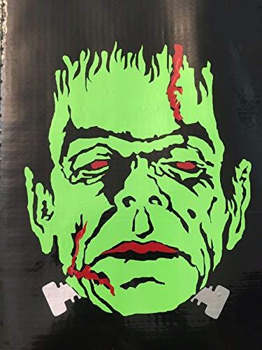 (POPCultureSigns Frankenstein Universal Monsters Horror Halloween Vinyl Decal Car Laptop)