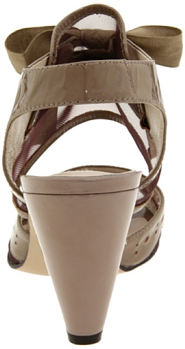 Sandalo Nero Con Cinturino Alla Caviglia A Sorpresa Da Donna