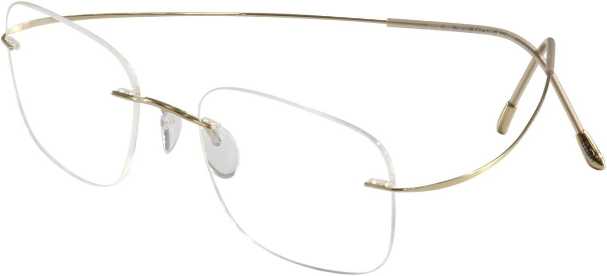Silhouette Eyeglasses TMA Must Collection Chassis 5515 7530 Optical Frame 17×150
