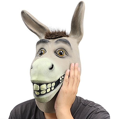 I'm not sure why this says Donkey Head Mask. I ordered Deadpool.