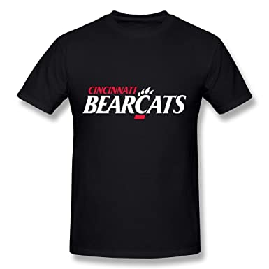 Night Spread Mens University Of Cincinnati The Bearcat Logo T Shirt