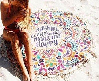 Toallas de playa, Tapiz Mandala Mantel de Picnic Esterilla ...