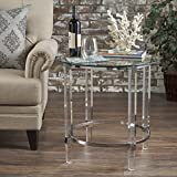Orson Acrylic and Tempered Glass Square Circular Table Review