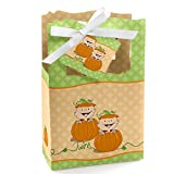 Twin Little Pumpkins - Fall Baby Shower or Birthday Party Favor Boxes - Set of 12