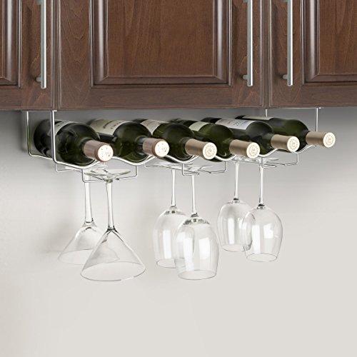 6 Bottle Under Cabinet Wine - 5