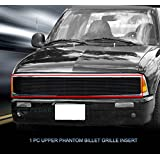 Fedar Main Upper Phantom Billet Grille Insert for 1991-1993 GMC Jimmy/Sonoma/Chevy S10 Models