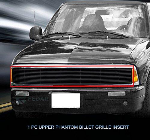 Fedar Main Upper Phantom Billet Grille Insert for 1991-1993 GMC Jimmy/Sonoma/Chevy S10 Models