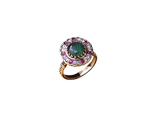 Amazon com: HAVANA Cocktail Statement Ring Luxury Turkish