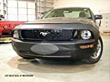 #4: Lebra 2 piece Front End Cover Black - Car Mask Bra - Fits - FORD,MUSTANG,2005 thru 2009