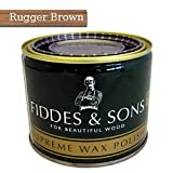 Fiddes & Sons Furniture Supreme Wax Polish - Rugger Brown