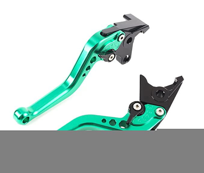 CNC moto palanca corto Kit Palanca de embrague y palanca de freno regulable de aluminio para ...