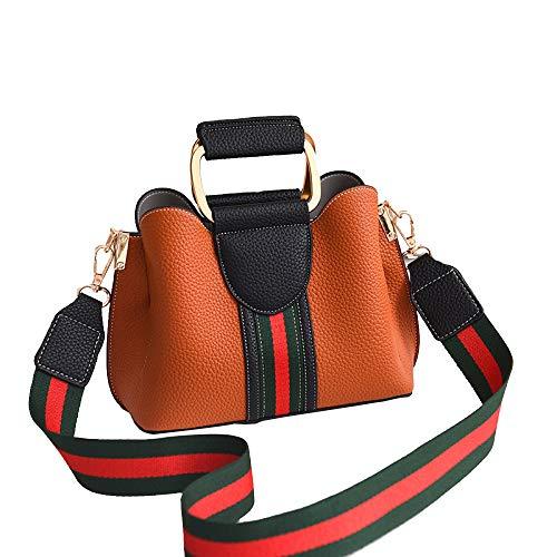 Femmes Designer Loisirs Sacs à bandoulière Sacs à main pour femmes Sac à bandoulière Shoulin Messenger Bag Browna