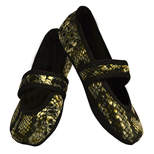 Large Slipper Womens Nufoot Snake Count Betsy Indoor 2 Shoes Lou Silver xUqR81nFwR