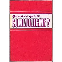 Qu'est-ce que le communiste?