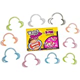 Original Watch Ya Mouth 10-Pack Colorful Mouthpiece Set 4 Small 6 Large