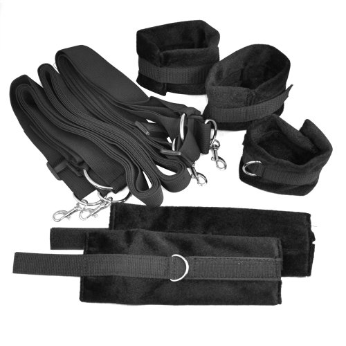 chinkyboo Caltrad Black Underbed for Restraint System Kit Cuffs/Bondage Fetish/ Private