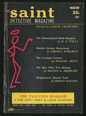 The Saint Detective Magazine: July 1954, Vol. 2, No. 2 - Covers Magazine Detective