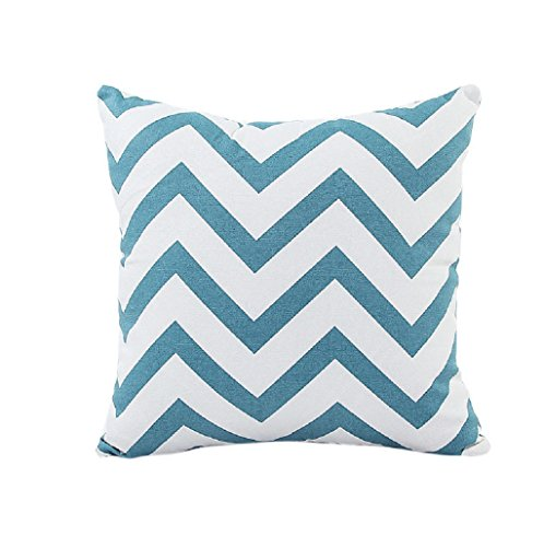 99 Sofa (Clearance!Pillow case,Canserin Home Car Bed Sofa Decorative Wavy Pattern Cushion Cover (Green))