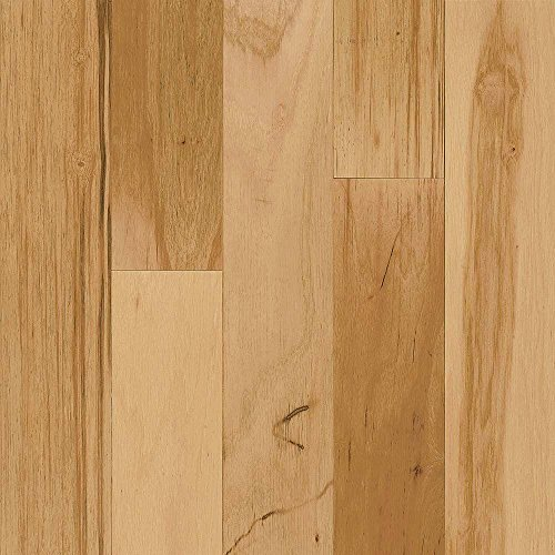 (Bruce Hickory Rustic Natural 3/8 in.Thick x 3 in.Wide Random Length Engineered Click Lock Hardwood Flooring (22 sq. ft./case))