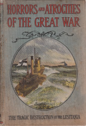 Large book cover: Horrors and Atrocities of the Great War