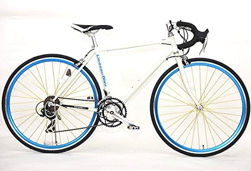 ロードバイク X-714 700C 14段変速自転車(ホワイト) B072R2YYNV