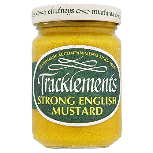 Tracklements Strong English Mustard (140g) - Pack of 2 by Tracklements