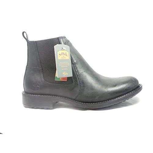 8a8adef9238c Softwalk Mens Black Leather Chelsea Boot 11  Amazon.co.uk  Shoes   Bags