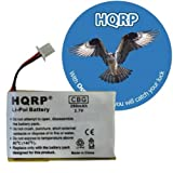HQRP Headset Battery for Avaya AWH-55 / AWH55, AWH-65 / AWH65 plus Coaster, Office Central