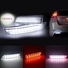 BSLighting Toyota Alphard RAV4 Previa Scion LED Rear Bumper Reflector Brake Stop Tail Light
