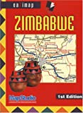 Zimbabwe Eazimap ~ Map Studio (Country Road Map)