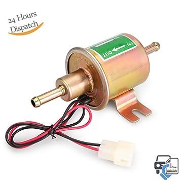 Gas Diesel Inline Low Pressure 12V Universal Electric Fuel Pump HEP02A HEP-02A