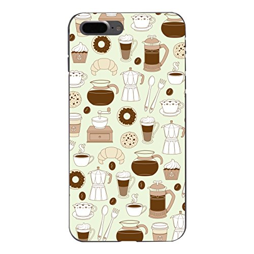 "Disagu SF-sdi-5317_1150#zub_cc6758 Design Schutzhülle für Apple iPhone 7 Plus - Motiv ""Kaffee 03"""