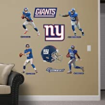 Fathead 12-21272 Wall Decal, NFL New York Giants Power Pack RealBig