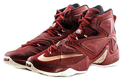 Nike Lebron Xiii Cavaliers 13 Sneakers Da Basket Da Uomo Di Colore Rosso Nuove