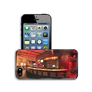 Architecture Design Bar Lighting Night Apple iPhone 5 / 5S Snap Cover Premium Aluminium Design Back Plate Case Customized Made to Order Support Ready 5 inch (126mm) x 2 3/8 inch (61mm) x 3/8 inch (10mm) MSD iPhone_5 5S Professional Metal Case Touch Access
