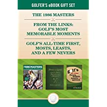 Golfer's eBook Gift Set: Classic golf stories from The Masters, Jack Nicklaus, Scotland, and beyond