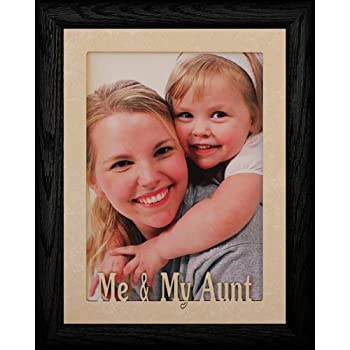 Amazon.com: 5 x 7 ~ Great tía Retrato Picture Frame ~ Jumbo ...