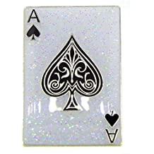 Navika Ace Playing Card Glitzy Ball Marker with Magnetic Hat Clip