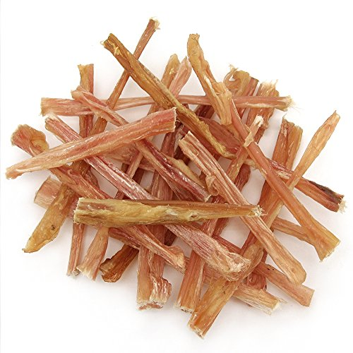 GigaBite 6 Inch Beef Tendon Sticks (25 Pack) – USDA & FDA Certified All Natural, Free Range Beef Tendon Dog Treat – By Best Pet Supplies