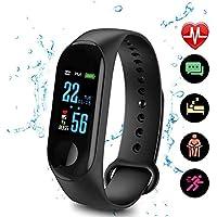 DIANZHI Fitness Tracker Cardiofrequenzimetro da Polso Smartwatch Donna Uomo Orologio Braccialetto Fitness Smart Watch attività Impermeabile con Monitor del Sonno, Contapassi, Contacalorie