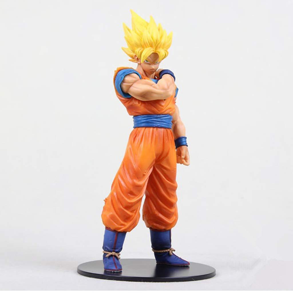 Hclshopsc Dragon Ball Ros Despertar Goku Saiyan Modelo ...